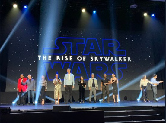 Star Wars: The Rise of Skywalker panel at D23 Expo 2019