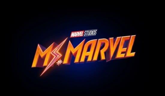 Ms Marvel Disney Plus logo