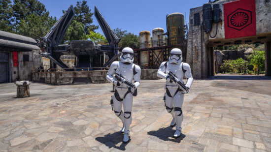Stormtroopers in Star Wars Galaxy's Edge