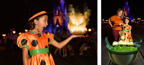 halloween magic shots photopass