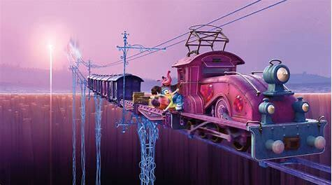 inside out train of thought