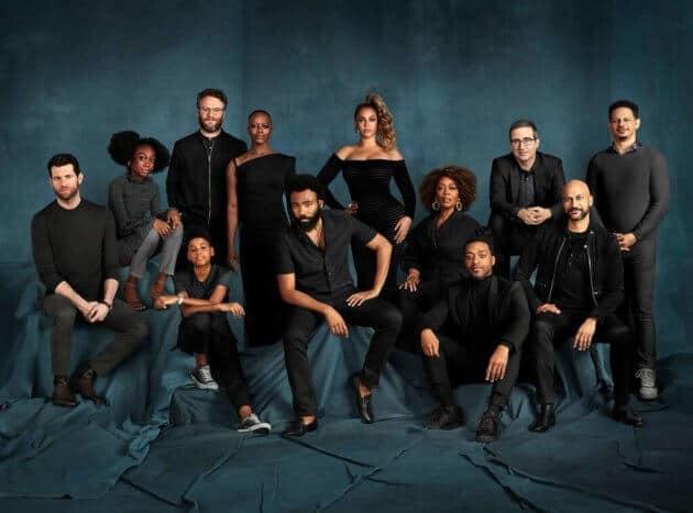 2019 Lion King Cast