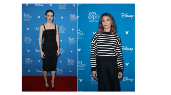Keri Russell and Daisey Ridley
