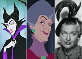 eleanor audley maleficent lady tremaine