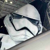Stormtrooper on plane