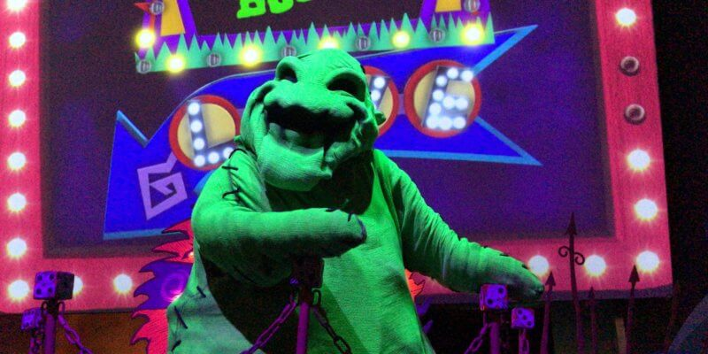oogie boogie bash treat trail