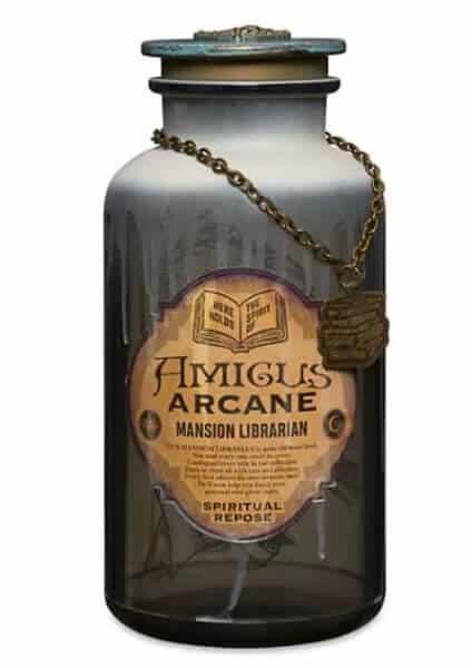 Haunted Mansion Spirit Jars librarian