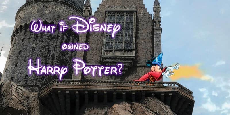 Disney Harry Potter Crossover