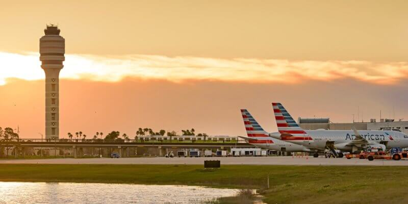 orlando international airport tarmac
