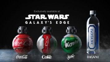 Star Wars Coke Bottles