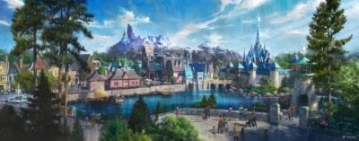 Frozen-themed land