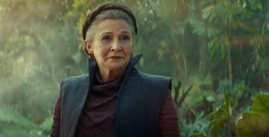 General Leia sequel trilogy