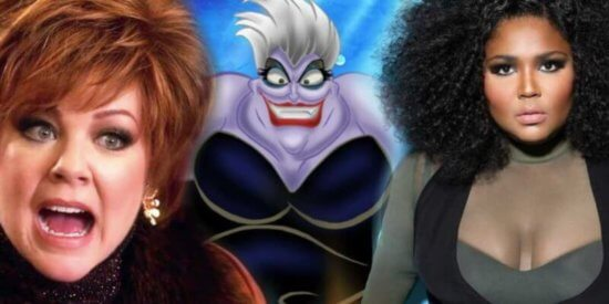 Lizzo and Melissa McCarthy for Ursula