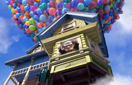 up house balloons carl fredricksen
