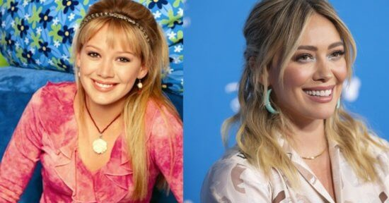 Lizzie McGuire and Hilary Duff
