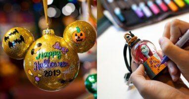 Disney Halloween Ornament Personalized