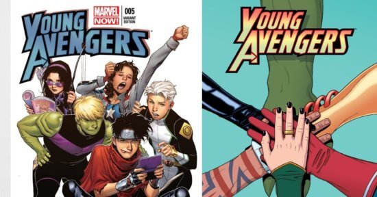 Marvel Young Avengers Comic