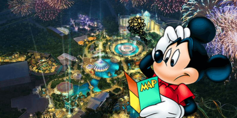 universal epic universe with mickey mouse