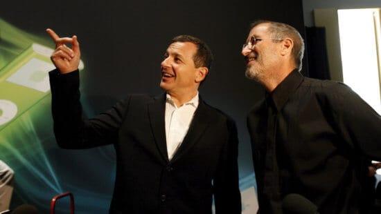 Steve Jobs and Bob Iger