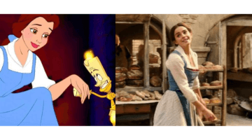 belle 1991 and 2017