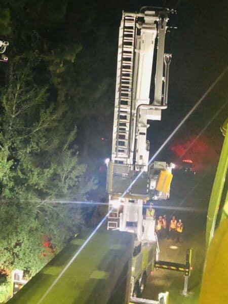 Broken-down monorail