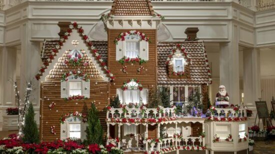 Grand Floridian Gingerbread house 2018