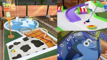 Pixar-themed mini-golf course
