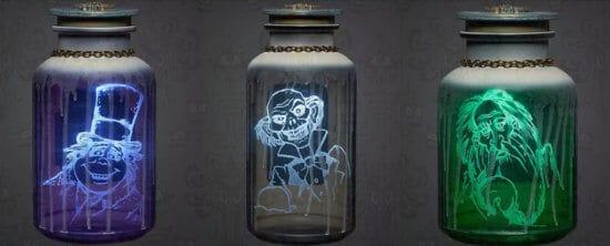 Haunted Mansion Spirit Jars lead