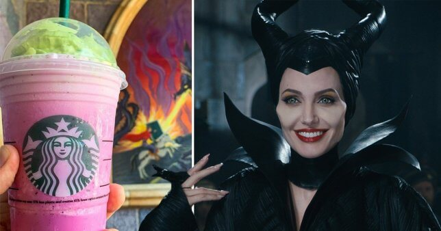 maleficent and frappuccino