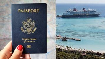 Passport for Martinique