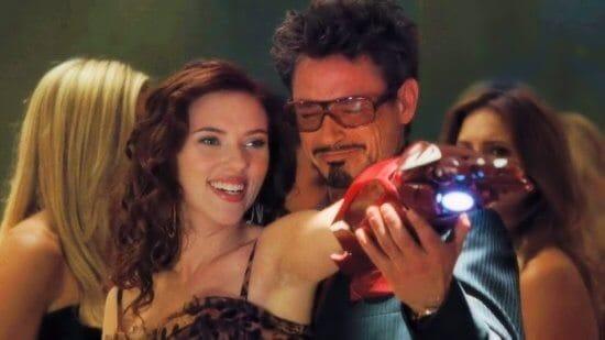 Black Widow and Iron Man