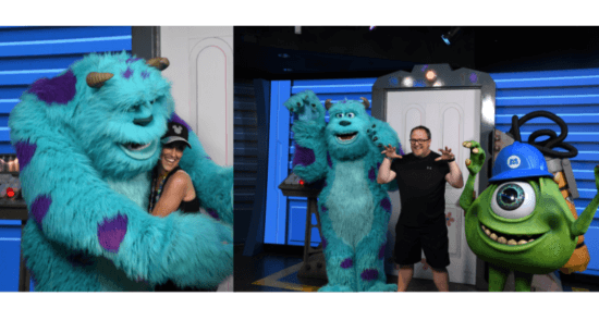 Mike and Sulley Disney World