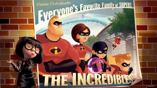 Incredibles at Pixar Place