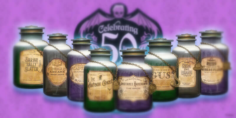 Haunted Mansion Spirit Jars