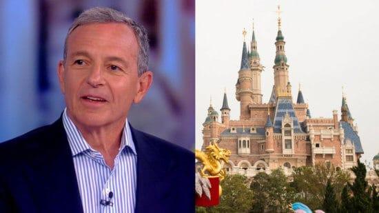 Bob Iger, Shanghai Disney