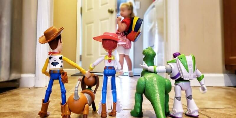 Toy Story First Day of Prescchool