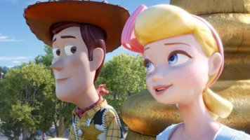 Woody and Bo Peep