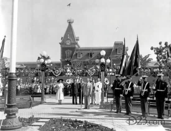Disneyland Opening