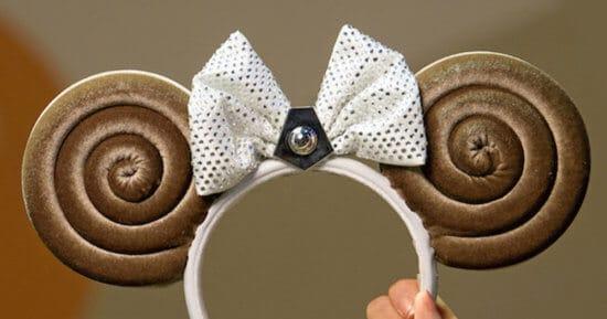 Princess Leia Bun-inspired minnie ears