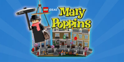LEGO Mary Poppins Cover