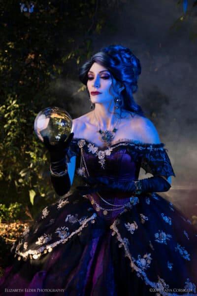 Madame Leota Gown - crystal2