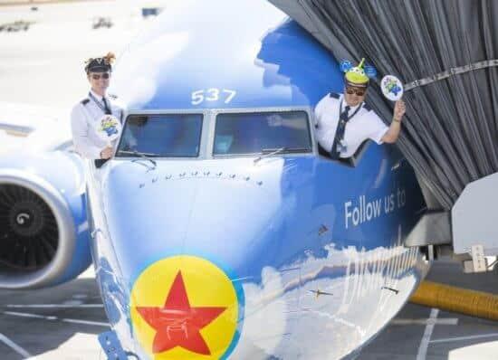 Pixar Plane Alaska Airlines