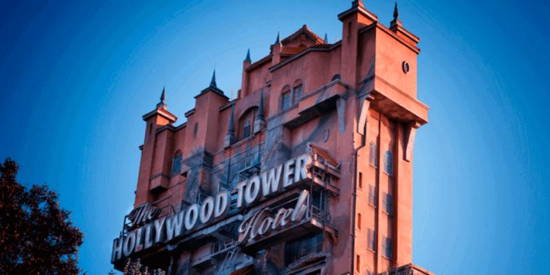 Tower of Terror sunny sky