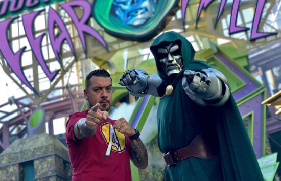 Dr. Doom's Fearfall at Islands of Adventure