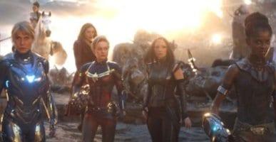 All-female scene from Avengers: Endgame