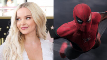 Dove Cameron and Spider-Man