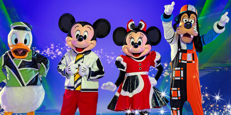 disney on ice search party