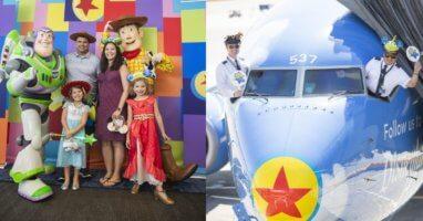 Disney Pixar Pier Plane