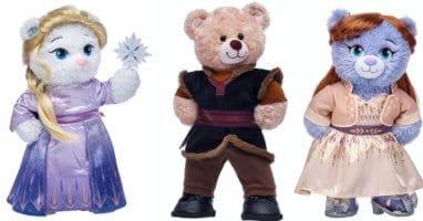 Frozen 2 Build-A-Bear