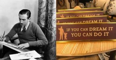 Disney Desk Plaque